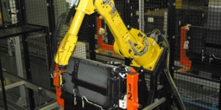 Vision enabled robot is key to automated product inspection
