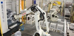 Robots increase capacity at aluminium casting company