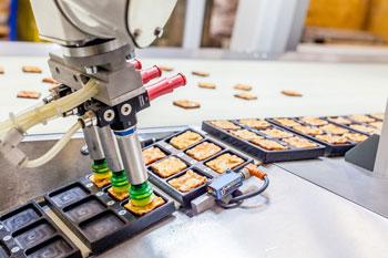FANUC food packing and palletising robots at PPMA : Robotics