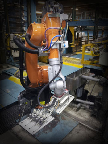 Paper mill upgrades to robot with remote diagnostics