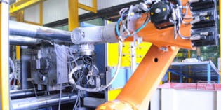Robots boost capacity at aluminium foundry business
