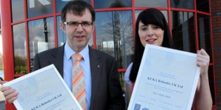 KUKA gains quality and environment management certification