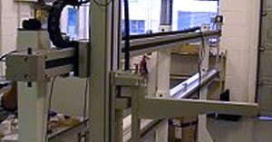 Gantry robot part of integrated motion system solution