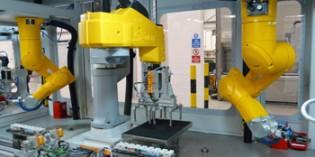 Robots boost capacity on airbag sensor production line