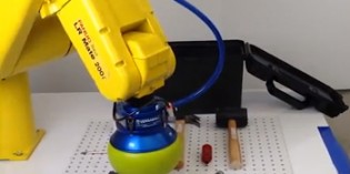 Robot gripper for a wide range of different objects