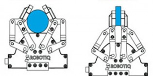 Robot gripping strategies and selection process