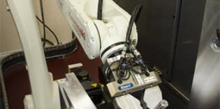 Articulated robot helps 'first timer' meet growth demand