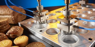 Magnetic gripper designed for the bakery industry