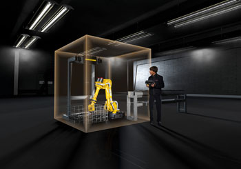 Fanuc Shows How Safety Can Increase Productivity