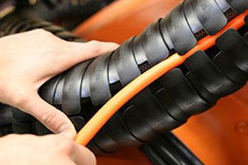 Igus Triflex Energy Chain For Palletizing Robots