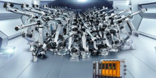 10,000 Comau robots controlled by B&R