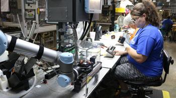 Universal robots job