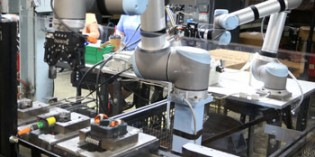 Mobile robots boost productivity and safety
