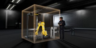 FANUC robots collaborate with each other