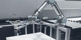 Collaborative robots help printing company save time