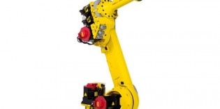 Fanuc launches compact robot for welding and handling