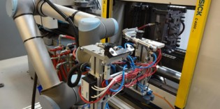 Universal Robot UR10s speed up labelling process
