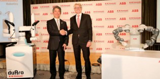 ABB and Kawasaki cooperate on cobots