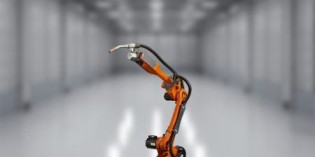 New articulated welding robot from Baumüller