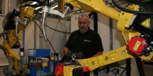 Sertec invests £500,000 in Fanuc robot welding cell
