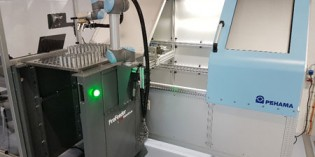 RARUK modular robot is easily moved between machines