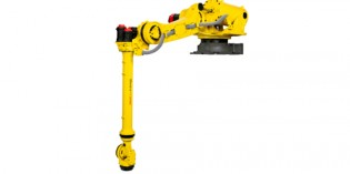 Fanuc's new robot turns press-to-press transfers upside-down