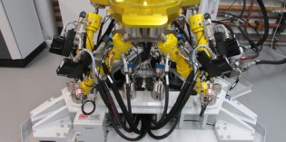 Eaton hose provides secure supply to hexapods