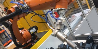 Kuka robot boosts productivity for Linecross