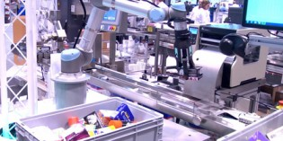 Universal Robots for bin-picking and packaging