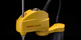 Fanuc launches its first SCARA robot range