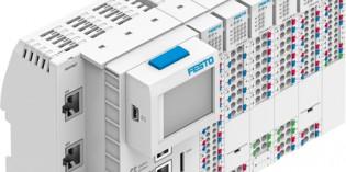 Festo modular controller scalable for robot tasks