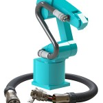 Eisele demonstrates one supply connection for robots