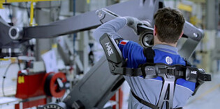 Comau exoskeleton receives EAWS certification