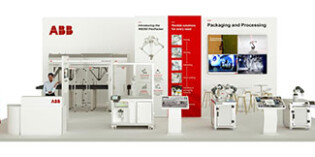 ABB Robotics builds interactive virtual exhibition stand for packaging and processing