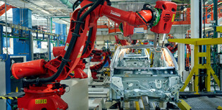 Comau technology for the production of the new fiat 500