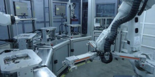 Automation of a production cell through CompactRIO and robotics