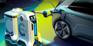 Volkswagen lets its charging robots loose