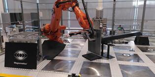 Robotics make magnet placement 60 times faster