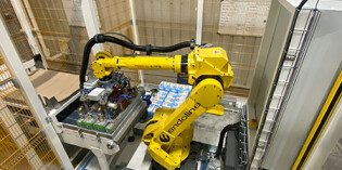 Flexible 'plug and play' palletising robot series