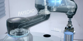 SCARA robot series handles payloads up to 15kg