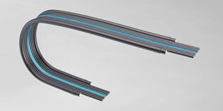 Flat cable system for cleanroom applications