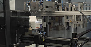 Igus linear robot is key on face mask production line
