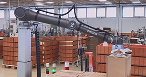 Omron and Reitec join forces on cobot palletiser